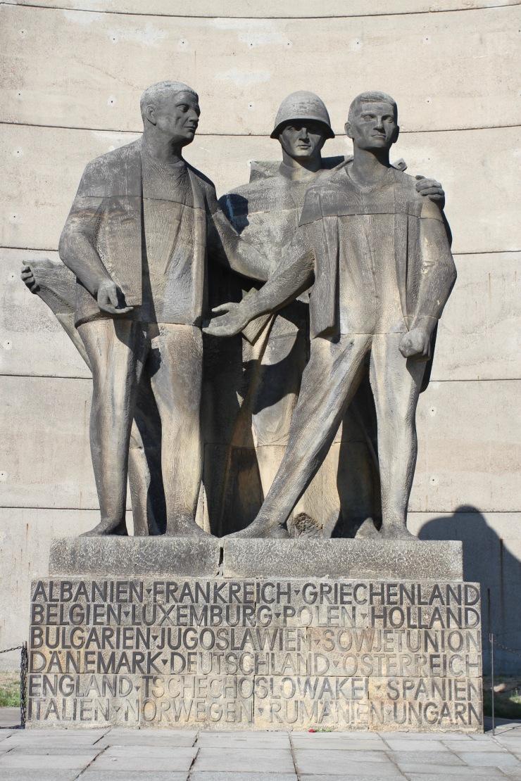 Soviet-era memorial, Sachsenhausen Concentration Camp
