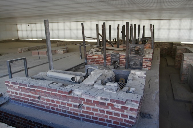 Crematorium, Sachsenhausen Concentration Camp