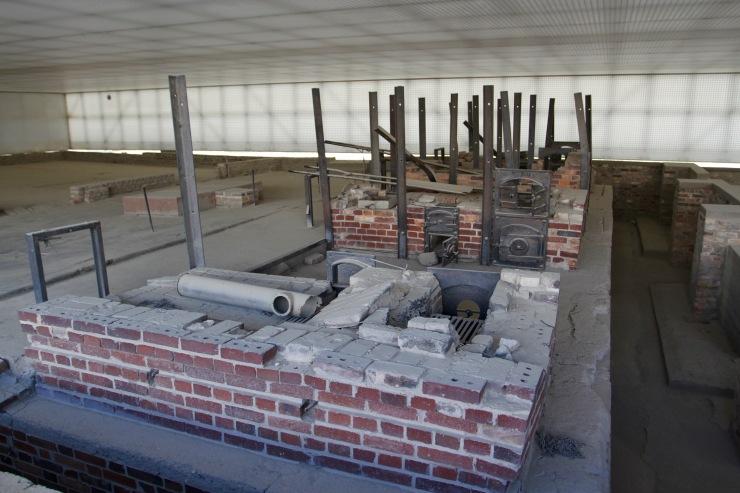Crematorium, Sachsenhausen Concentration Camp