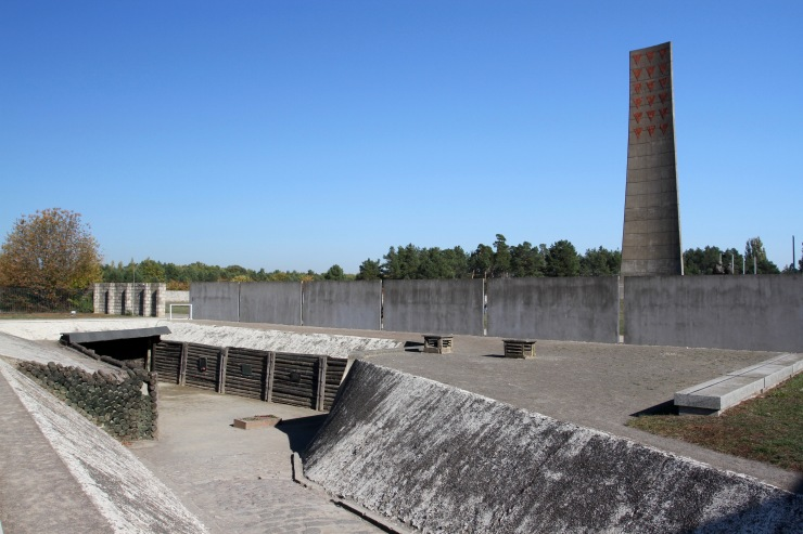 Execution trench, Sachsenhausen Concentration Camp