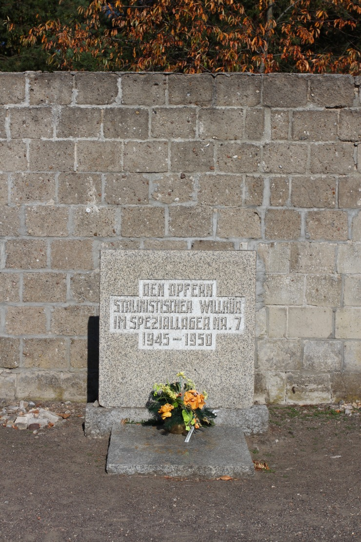 Memorial to victims of the Soviets, Sachsenhausen Concentration Camp
