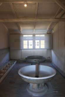 Prisoner bathroom, Sachsenhausen Concentration Camp
