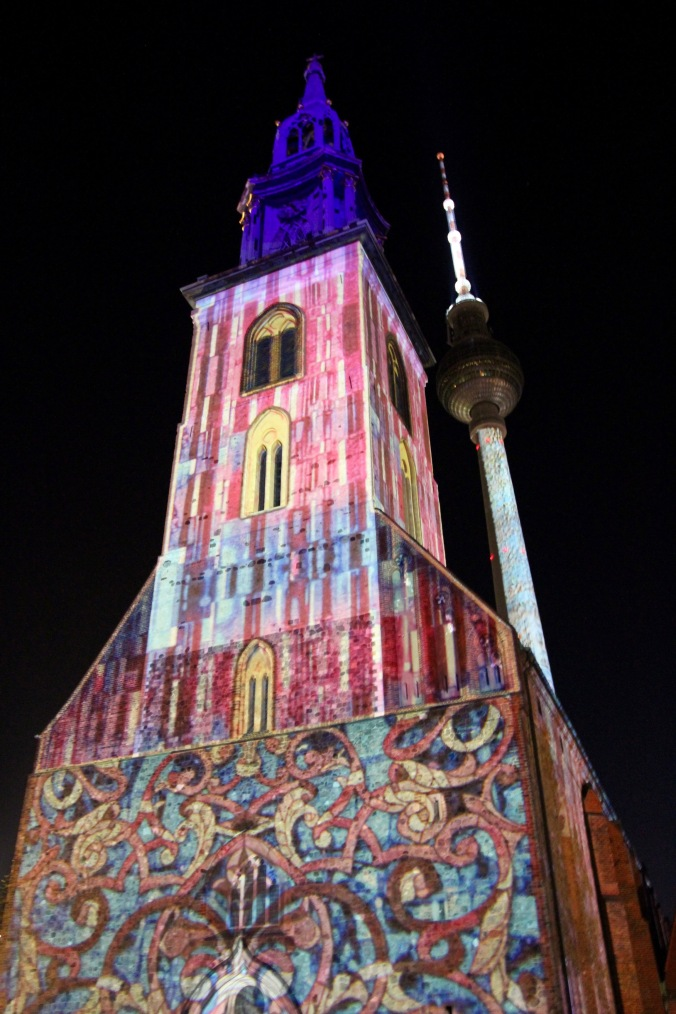 Alexanderplatz, Festival of Lights, Berlin