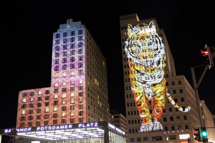 Potsdamer Platz, Festival of Lights, Berlin