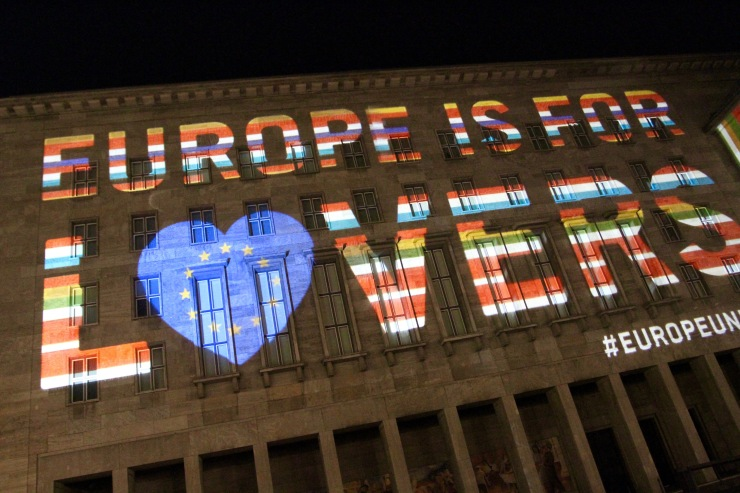 Europe if for Lovers, Festival of Lights, Berlin
