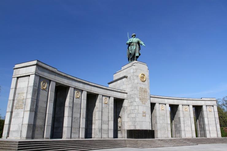 Soviet Memorial, Tiergarten, Berlin, Germany