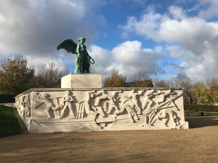 Seafarers monument, Copenhagen, Denmark