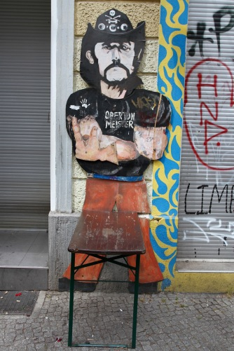 Lemmy from Motorhead, Street art, Berlin, Germany
