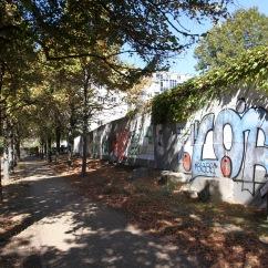 Berlin Wall, Invalidenfriedhof, Berlin, Germany