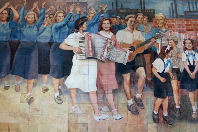 Socialist Realism at the Platz des Volksaufstandes von 1953, Berlin, Germany