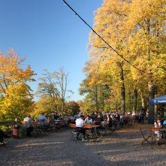 Beer garden, Wannsee, Berlin