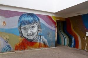 Street art by Graco, Kreuzberg, Berlin