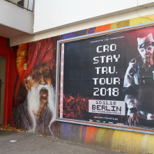 Street art by Graco, Kreuzberg, Berlin