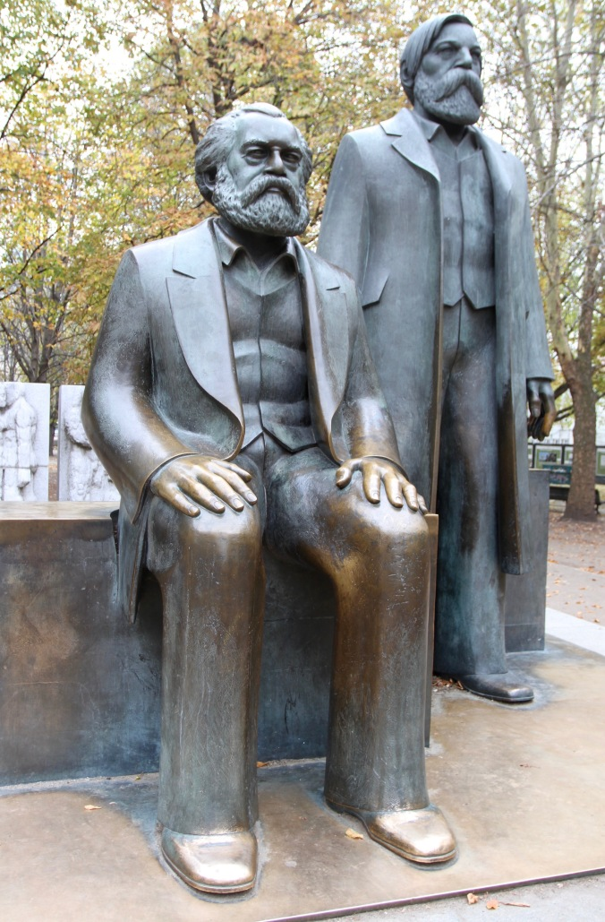 Statues of Marx and Engels, Berlin, Germany