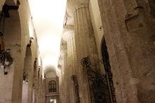 Doric columns, Duomo di Siracusa, Syracuse, Sicily, Italy