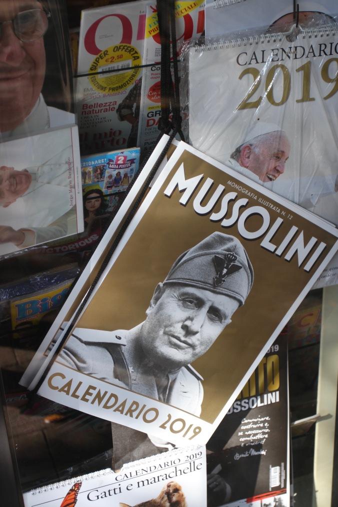 Mussolini calendar, Syracuse, Sicily, Italy