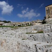 Greek Theatre, Parco Archeologico Neapolis, Syracuse, Sicily, Italy