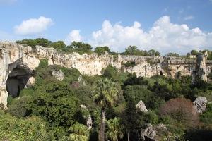 Quarry, Parco Archeologico Neapolis, Syracuse, Sicily, Italy