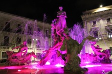 Fontana di Diana, Syracuse, Sicily, Italy