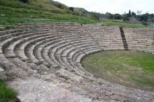 Ancient Greek city of Morgantina, Sicily, Italy