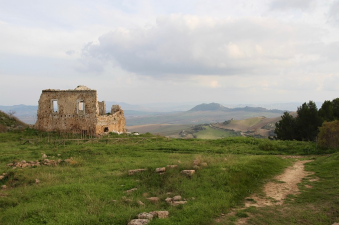 Ancient Greek city of Morgantina, Sicily, Italy