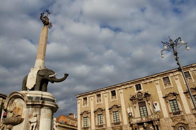 Piazza del Duomo, Catania, Sicily, Italy