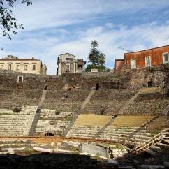Roman Theatre, Catania, Sicily, Italy