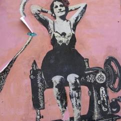 Street art, Catania, Sicily, Italy