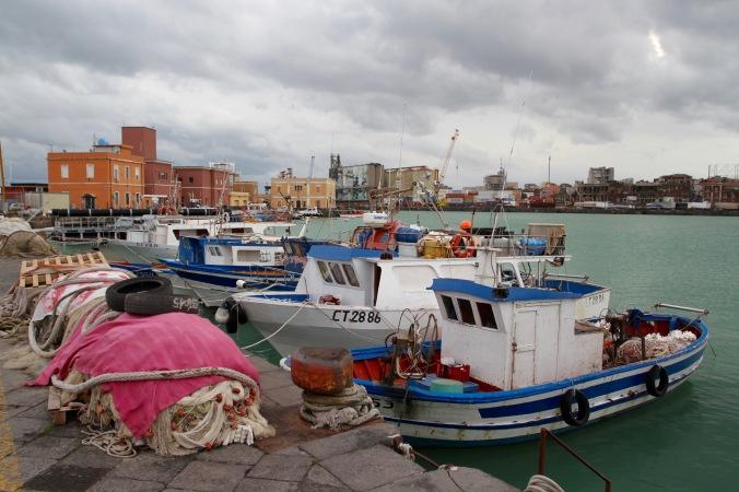 Harbour, Catania, Sicily, Italy