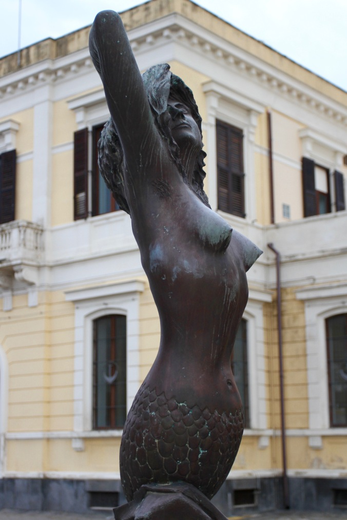 Mermaid, Catania, Sicily, Italy