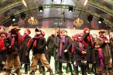 Performers, Gendarmenmarkt Xmas Market, Berlin, Germany