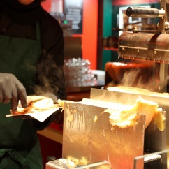 Melted cheese, Gendarmenmarkt Xmas Market, Berlin, Germany