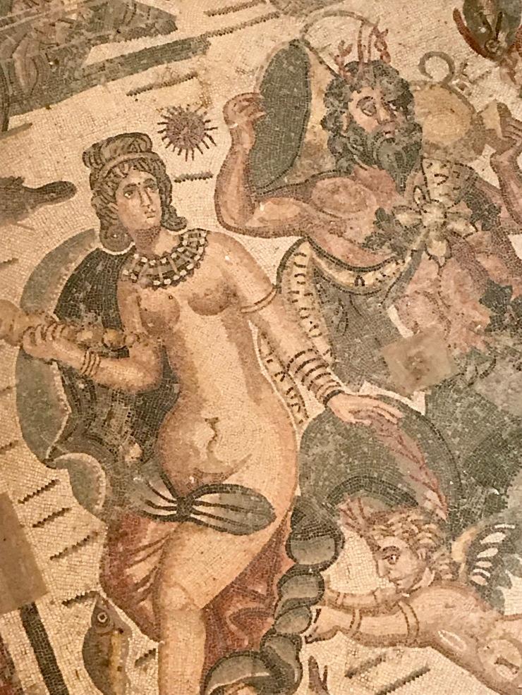 Roman mosaics, Villa Romana del Casale, Sicily, Italy