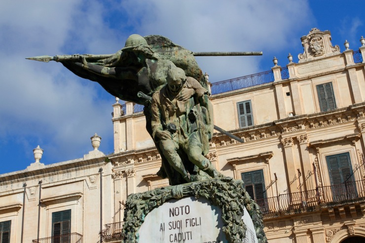 The Baroque glories of Noto, Sicily, Italy
