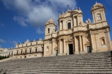 The Baroque Cathedral of Noto, Sicily, Italy