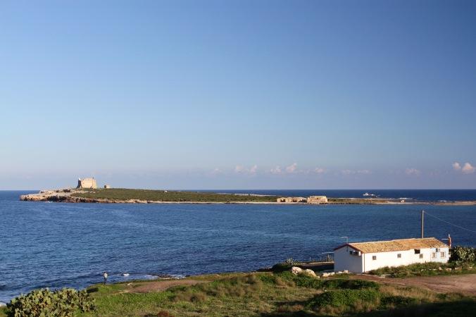 Island of Capopassero, Noto Coast, Sicily, Italy