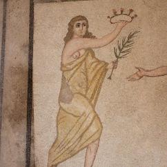 Bikini Girls Roman mosaics, Villa Romana del Casale, Sicily, Italy