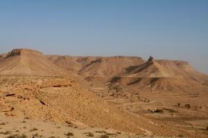 Landscape near Chenini, Tunisia