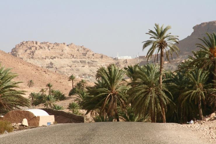Chenini en route to Douiret, Tunisia