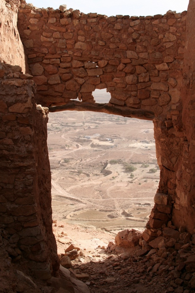 Ancient Berber village of Chenini, Tataouine, Tunisia