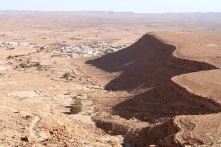 Views from Ksar Guermessa, Tataouine, Tunisia