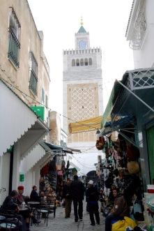 Zitouna Mosque, Medina, Tunis, Tunisia