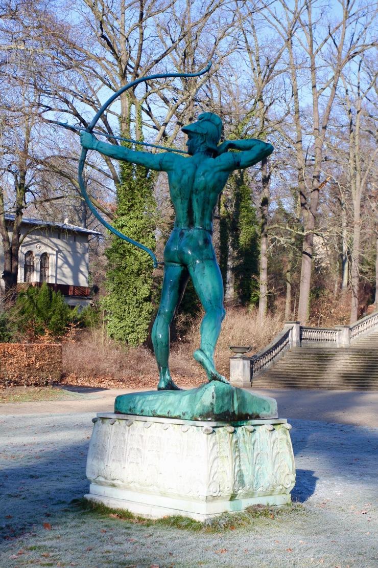 Archer, Sanssouci Park, Potsdam, Germany
