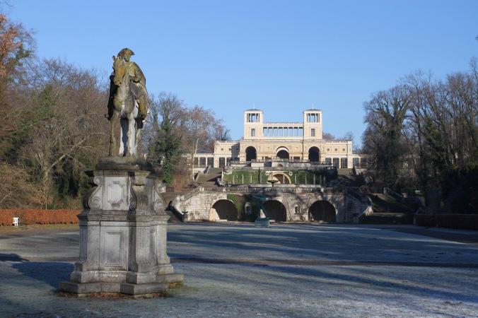 Orangery Palace, Sanssouci Park, Potsdam, Germany