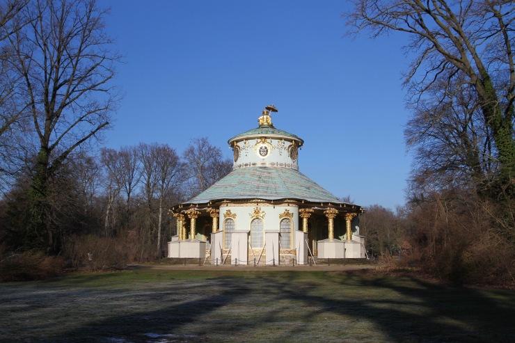 Chinese Pavilion, Sanssouci Park, Potsdam, Germany
