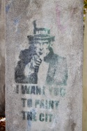 I Want You to Paint the City, Berlin Street Art, Germany