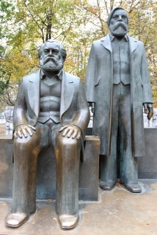 Marx and Engels, Berlin, Germany