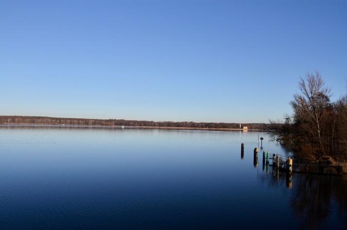 Jungfernsee, Glienicker Brucke, Potsdam, GermanyJungfernsee, Glienicker Brucke, Potsdam, Germany