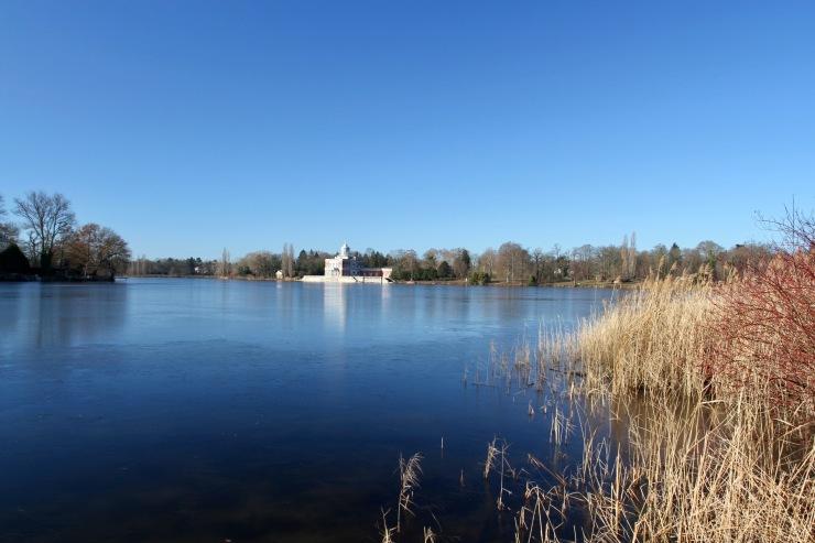 Marmorpalais, Heiliger See, Glienicker Brucke, Potsdam, Germany