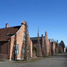 Ducth-style houses, Marmorpalais, Potsdam, Germany